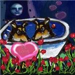 SMOOTH COLLIE Valentine