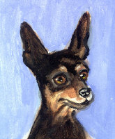 MINIATURE PINSCHER Art