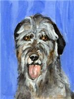 IRISH WOLFHOUND Portrait Design