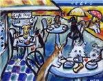 CAFE DOGS~Summer Beach Cafe
