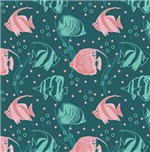 Pink and Mint Fish