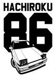 AE86 Hachiroku Drift Car