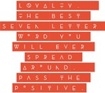 LOYALTY Pass the Positive Design