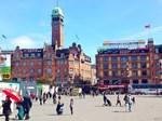 Copenhagen Square, Photo / Digital Painting