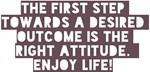 The First Step Enjoy Life! Design