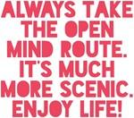 The Open Mind Route Enjoy Life! Design