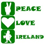 Peace Love Ireland