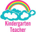 Rainbow Cloud Kindergarten Teacher