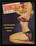 Showgirls Retro Pin Up Burlesque Dancer