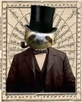 Gentleman Sir Sloth Victorian Steampunk Altered Ar