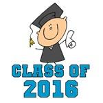 Blue Class of 2014 Grad