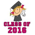 Pink Class of 2014 Grad