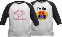 Big, Little, Sister, Brother Baseball Jerseys