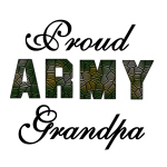 Proud Army Grandpa T-shirts and Gifts