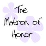 Pastel Flowers Matron of Honor