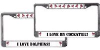 Pets and Other Animals License Plate Frames