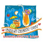 Tropical Girls Night Out Tshirts and Gifts