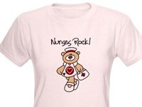 Teddy Bear Nurse T-shirts and Gifts