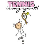 STICK FIGURE TENNIS T-SHIRTS AND GIFTS