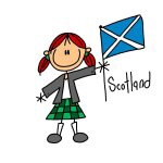 Scotland Ethnic T-shirts and Gifts