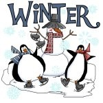Penguins and Snowman Winter T-shirts and Gifts