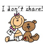 I Don't Share T-shirts and Gifts