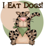 Cat Eats Dogs T-shirts and Gifts