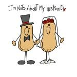 Nuts About My Husband T-shirts and Gifts