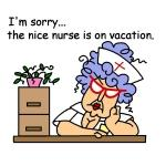 Nurse on Vacation Tshirts and Gifts