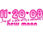 11-20-09 New Moon Date with A Werewolf T-Shirts!