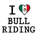 I Love Bull Riding T-Shirts