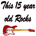 15 YEAR OLD ROCKS