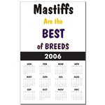 Awesome Mastiff Calendars