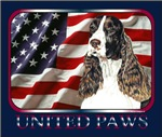 English Springer Spaniel Patriotic US Flag Items