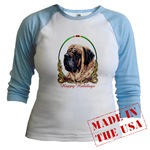 Mastiff Dog Breed Holiday Just for Juniors Wear