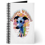 Beautiful Electric Whippet Dog Journals