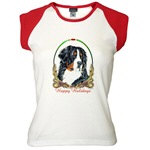 Bernese Mountain Dog Holiday T-shirts