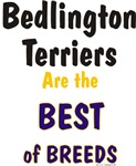 Bedlington Terriers Best of Breeds Gifts & Product