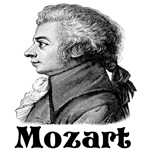 Mozart T-shirts and gifts.