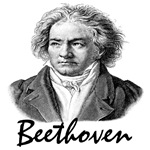 Beethoven T-shirts and gifts.