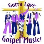 Gotta Love Gospel Purple