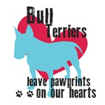 Bull Terriers Leave Pawprints On Our Hearts