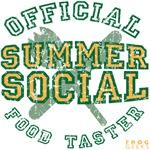 OFFICIAL SUMMER SOCIAL FOOD TASTER