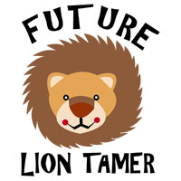 Future lion tamer