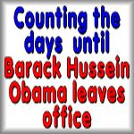 Counting the days until Barack Obama leaves office