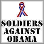 Soldiers against Obama