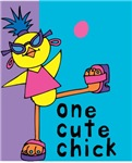1 cute chick