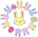 Easter Bunny Circle