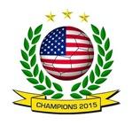 USA Women's Soccer Champions 2015