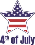 Fourth of July American Star